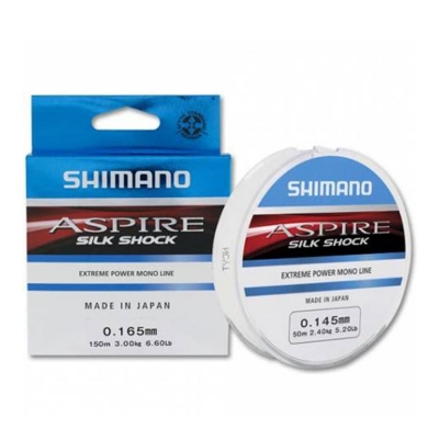 Леска Shimano Aspire Silk Shock 150m 0.10mm